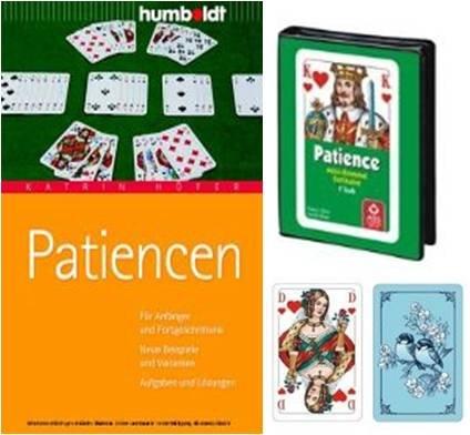 Geschenkset: Patiencen - inkl. ASS Patience Mini Rommé Solitaire