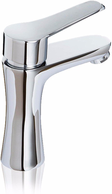 Lvsede Bad Wasserhahn Design Küchenarmatur Niederdruck Kupferner Heier Und Kalter Badezimmergegenbassin-Einzelloch-Einhandhahn L6093