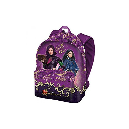 Karactermania Los Descendientes Fairest Mochila Tipo Casual, 42 cm, 16 litros, Morado