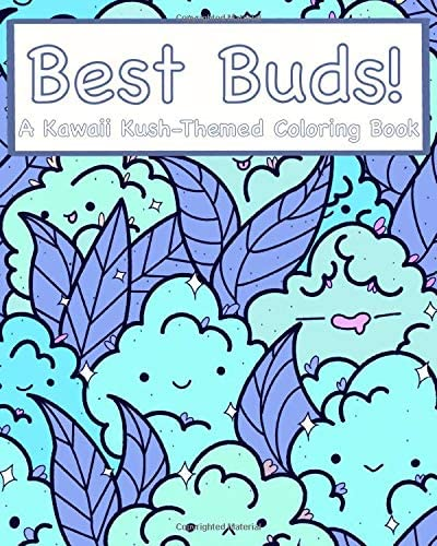 Best Buds A Kawaii Kush Themed Coloring Book product image