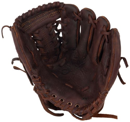Shoeless Joe Gloves Junior Fielders Brown Glove, 10-Inch, Right Hand (Left Hand Throw)