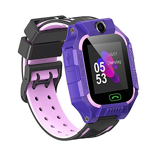 Kinder Smartwatch Touchscreen Smart Watch Phone mit LBS SOS Spiel Voice Chat...