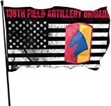 Jeewly 128th Aviation Brigade Home Flags 3 X 5 und Indoor & Outdoor Decorative Home Fall Flags Holiday Decor