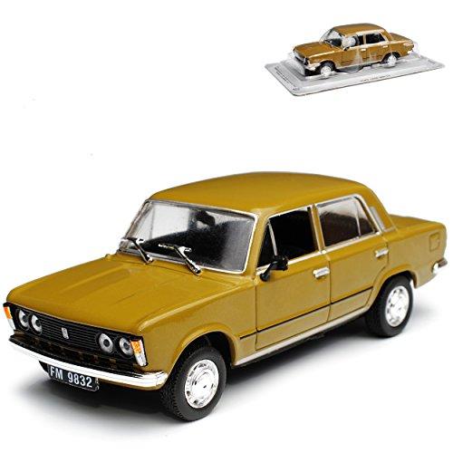 Unbekannt FIAT 125P Polski MR 75 Limousine Grün Braun 1967-1991 1/43 Modellcarsonline Modell Auto mit individiuellem Wunschkennzeichen