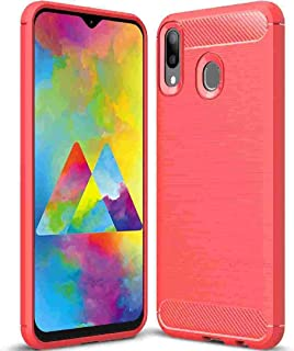 for Huawei 2019 Y9 Case, Portable Carbon Fiber Art Scratch Drawbench Background Useful Thin Soft Formal Cover, Protect Sli...
