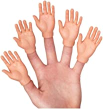 Set of Five Rubber Finger Hands in Box