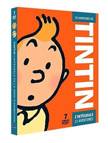 Le coffret DVD L'intégrale de l'animation de Tintin