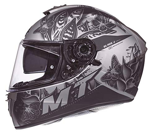 CASCO MT BLADE 2 BREEZE E2 GRIS MATE (XS)