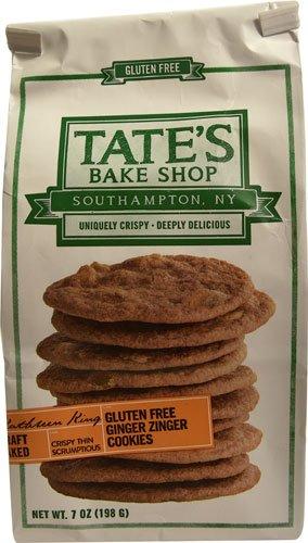 Tate's Bake Shop Gluten Free Cookies Ginger Zinger -- 7 oz - 2 pc