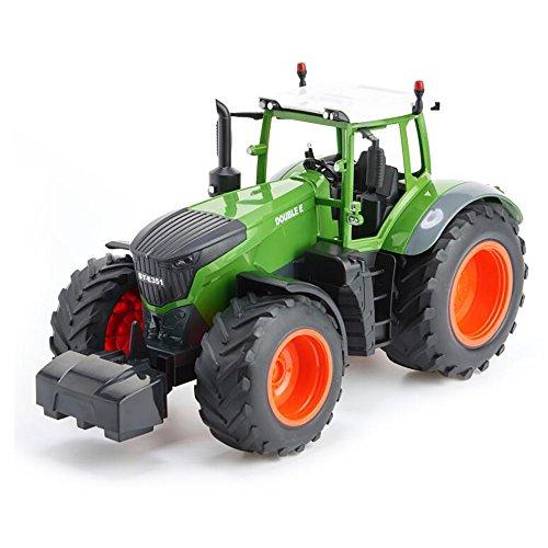 RC Auto kaufen Traktor Bild 2: efaso E351-003 1:16 2,4 GHz Ferngesteuerter RC Traktor Trecker mit Heuwender und Licht- und Soundeffekten - Komplett RTR*