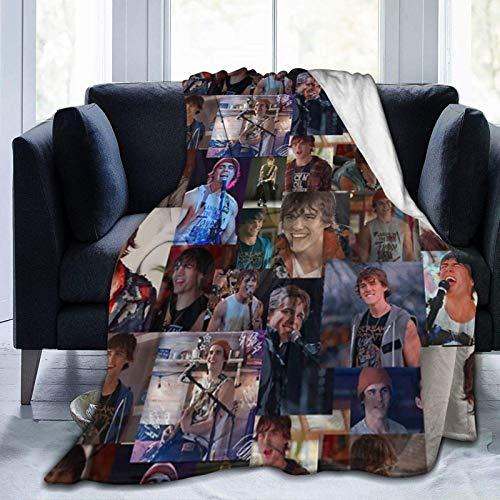 Ju-Lie and The Phan-Toms Lu-Ke - Coperta in pile confortevole per la cura della casa, divano, auto, viaggi, 152,4 x 127 cm
