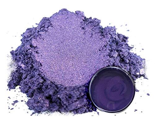 "Mica Powder Pigment ""Purple Sage"" (50g) Multipurpose DIY Arts and Crafts Additive   Woodworking, Epoxy, Resin, Paint, Soap, Natural Bath Bombs, Nail Polish, Lip Balm (Purple Sage, 50G)"