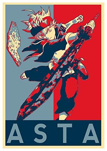 Instabuy Poster Black Clover Propaganda Asta - A3 (42x30 cm)