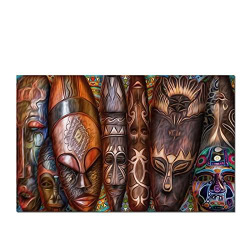 Máscaras Decorativas De Pared De África Marca Chifang