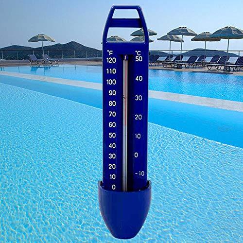 Drijvende zwembadthermometer Premium watertemperatuur-thermometers met koord, breukvast, voor alle buiten- en binnenzwembaden, spa's, bubbelbaden, aquaria en visvijvers