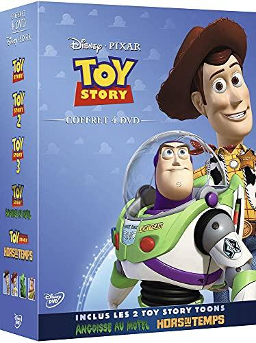 Coffret 4 DVD : Toy Story 1, 2 et 3 + Angoisse au Motel + Hors du Temps