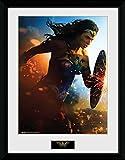 DC Comics Wonder Woman, Run Kunstdruck, gerahmt,