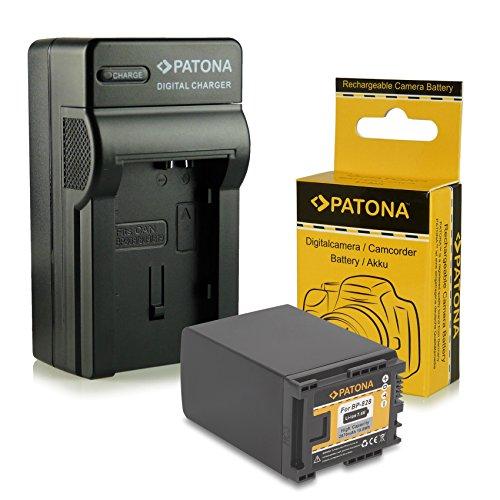 Cargador + Batería BP-828 / BP828 para Canon Camcorder HF-G30 | XA20 | XA25 - LEGRIA...