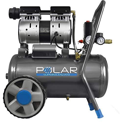 COMPRESSORE 24L SUPER SILENZIATO 59 dB 67700 POLAR KWU750-24L