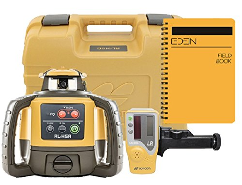 Topcon RL-H5A Self Leveling Horizontal Rotary Laser with Bonus EDEN Field Book| IP66 Rating Drop, Dust, Water Resistant| 800m Construction Laser|...