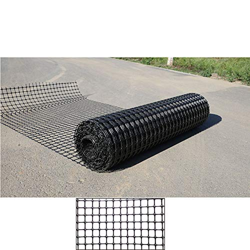 LJIANW Patio Snow Fence, Fence Protection Network Durable Polypropylene Fence Network for Farming Fish Dog Chicken Pet Protection Net, 50m (Color : 0.9MM, Size : 1.5X50M)