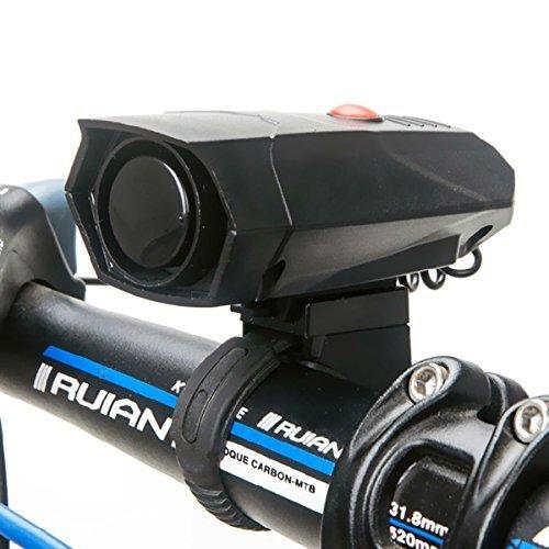 Wallfire - Bocina para Bicicleta, Ultra Fuerte, 5 Modos, con Timbre de Alarma