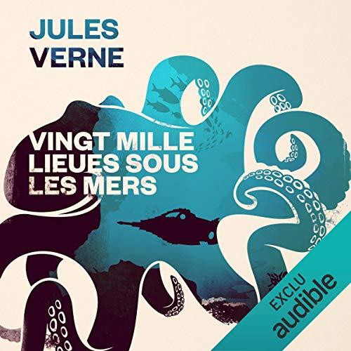 Vingt mille lieues sous les mers audiobook cover art