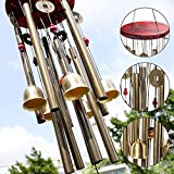 Craft Expertise Wooden and Metal Wind Chime Pipe and Bell | Good Sound