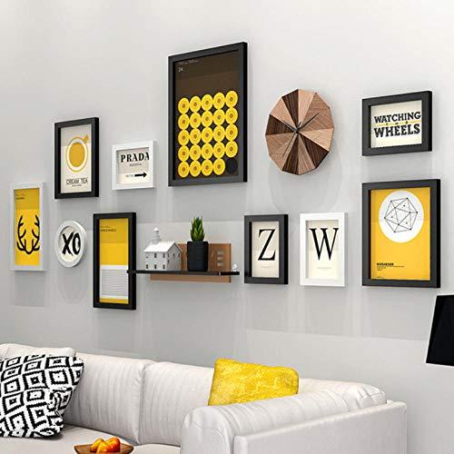 laoga Fotorahmen Stil Vintage Wandbehang Bilderrahmen Set Schlafsofa Wand Holz Bilderrahmen Qualität Bilderrahmen Porta Retrato