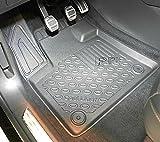 Alfombrillas de goma premium 3D exclusivas para DS 7 Crossback SUV a partir de 01.2019 / DS 7 Crossback E-Tense Plug-in Hybrid SUV a partir de 07.2019