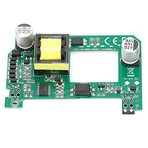 Aoutecen Módulo de Fuente de alimentación Duradero Componente electrónico Módulo PoE Tanque de Agua Módulo de refrigeración de tamaño pequeño Compatible con 802.3af Compatible con Raspberry Pi