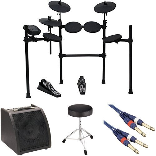 MEDELI メデリ 電子ドラム DD401J-DIY KIT + ドラムイス・ドラムアンプ&ケーブル付き