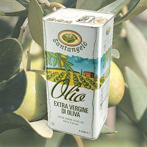 アウトレット サンタンジェロ エキストラバージン オリーブオイル 5L 缶 イタリア ラツィオ産 訳あり