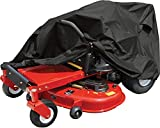 Raider 02-7730 SX-Series Large Weather and UV-Resistant Zero-Turn Lawn Tractor Storage Cover