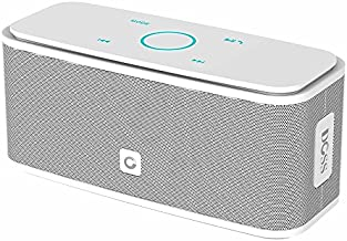 DOSS SoundBox Touch Portable Wireless Bluetooth Speakers with 12W HD Sound and Bass, 20H Playtime, Handsfree, Speakers for Home, Outdoor, Travel-White