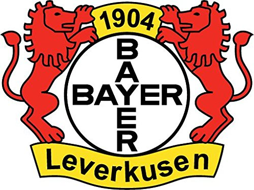 Bayer Leverkusen FC Germany Europe Soccer Football Hochwertigen Auto-Autoaufkleber 12 x 10 cm