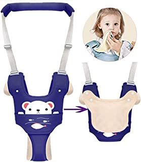 Autbye Baby Harness for Walking Toddler Walking Assistant Leash Kids Safety Walking Harness Walker Belt for Baby 6-36 Months (Blue)