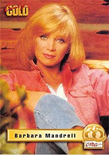 Barbara Mandrell trading card Country Gold 1993#PTBM1 Prototype