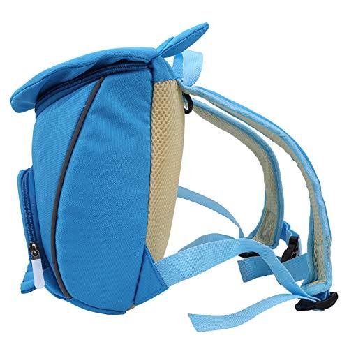 Bolsa de aprendizaje infantil Tirantes anchos para niños de 3 a 6 años(Owl blue)