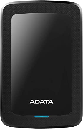 ADATA AHV300-1TU31-CBK Disco Duro Externo, color Negro