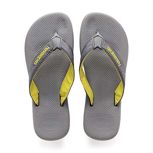 Havaianas Herren Surf Pro Zehentrenner, Mehrfarbig (Steel Grey/Grey), 37/38 EU