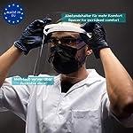 ACE Visera Protectora para la Cara - Mascara Protectora Facial - Transparente - para Hombres y Mujer... #4