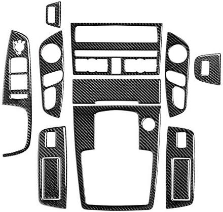 HOTRIMWORLD Carbon High order Fiber Interior Accessories Cov Trim Mesa Mall Kit Whole