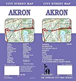 Akron / Summit County, Ohio Street Map