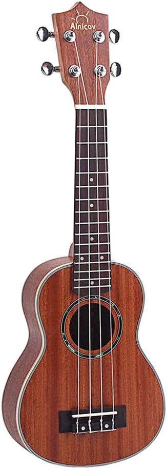 Complete Free Shipping Generic 21'' Ukelele Hawaiian Guitar Indefinitely 4 Rosewood Bridge Fretboard