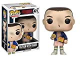 Funko 13318 Stranger Things Pop Vinyl Figure 421 Eleven with Eggos, 9 cm, modelli assortiti