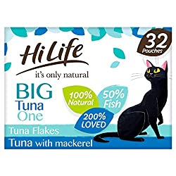100% Natural Ingredients 100% Complete Nutrition Over 50% Tuna & Mackerel No Soya & No GMOs No Artificial Additives