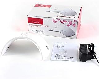 24w Secador de uñas profesional UV Inducción inteligente 30s 60s Ajuste de sincronización Lámpara de fototerapia 220v