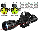Best Rifle Scopes - MidTen 4-16x50 Tactical Rifle Scope Dual Illuminated Optics Review