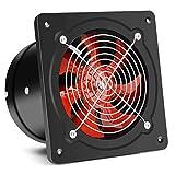LANDUA Ventilador de Escape Silencioso Fan Box Alta Velocidad del Aire de ventilación del Ventilador for el hogar Baño...